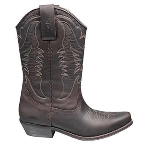 Man Biker-Stiefel | 4730 Original-Johnny Bulls braun