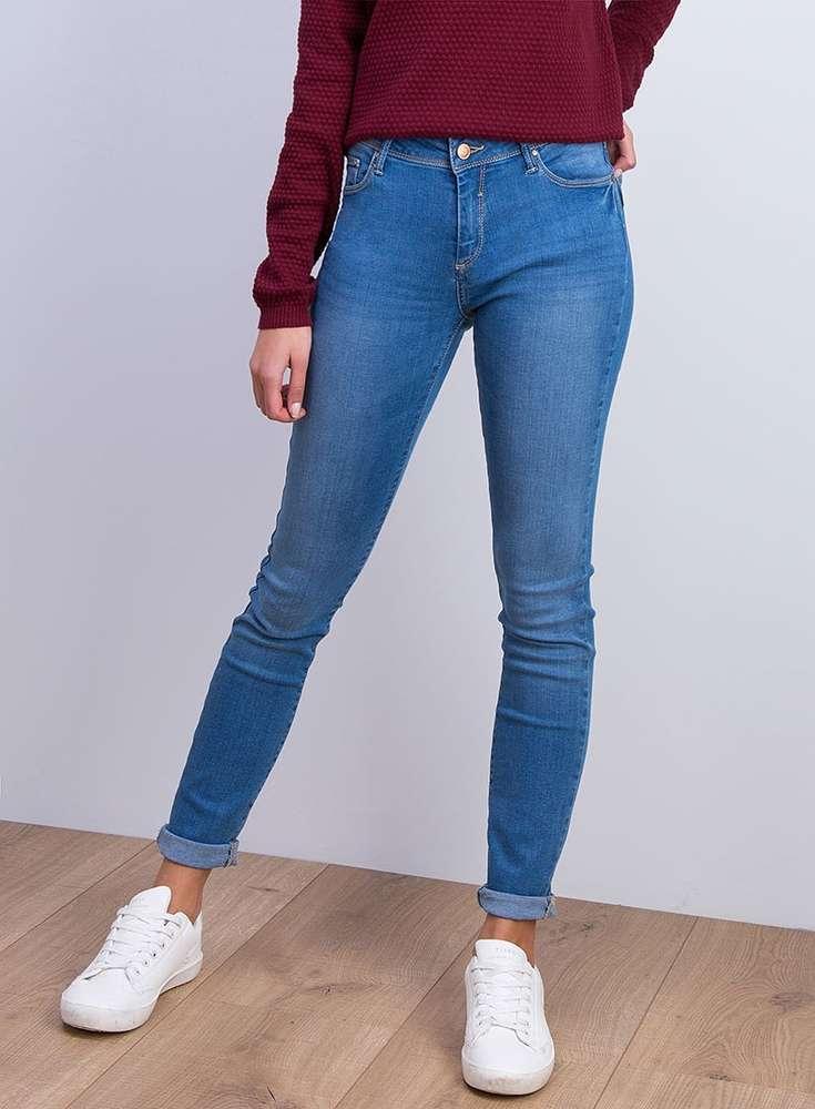b59874828eb6c Jeans slim Mujer