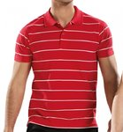 Asioka | Men's short-sleeved polo shirt | Ref. P1950 red
