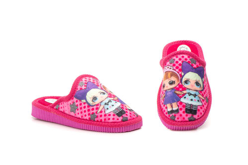 House slippers girl | ZCH-1313 Fuchsia