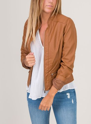 Women's Jacket | Tiffosi | 10018805 | Brown