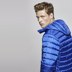 Man padded jacket | Electric blue | (RA5081)