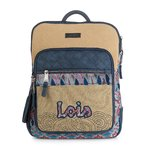 Women's backpack | Lois | 92623-01 beige