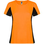 Sporthemd m / c Frauen | CA6648 | orange Farbe