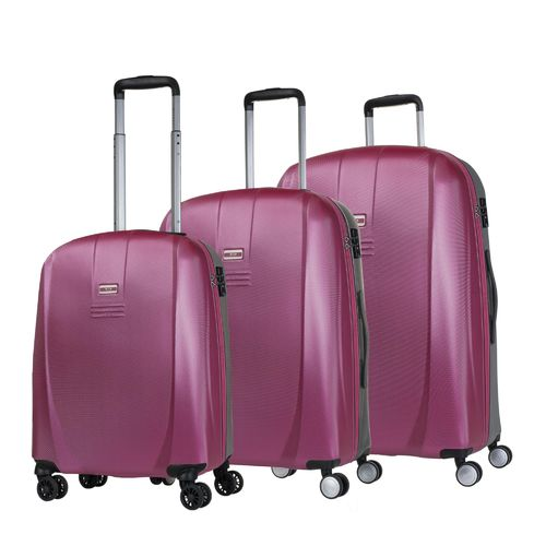 Maletas | Set Trolleys | Jaslen | 56500-06 fucsia