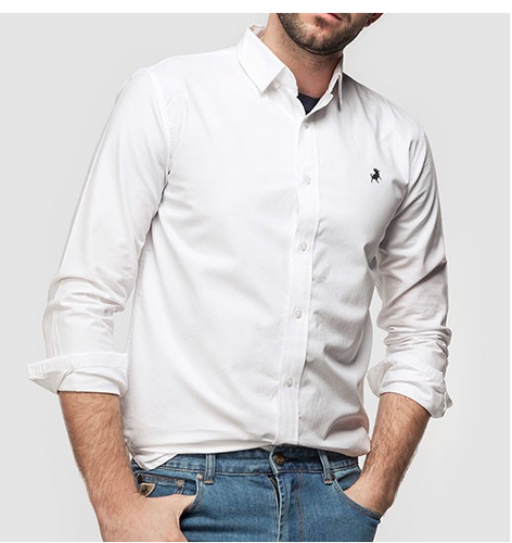 Camisa básica hombre  4f749f77bd469