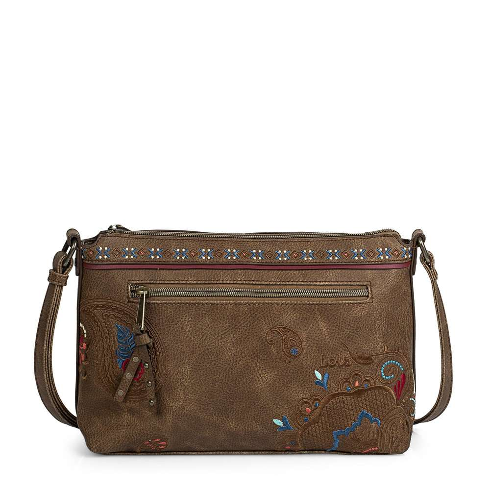 Bolso bandolera Mujer | Lois |ARS96415 01 marrón