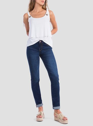 Jeans Pitillo Mujer | Tiffosi | 10024269 Lauren 125