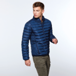 Men's padded jacket | Electric blue color | (RA5094)
