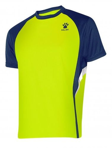 Kelme | Short Sleeve T-Shirt | Man | 87253 lemon / marine