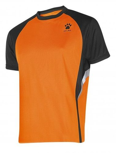 Kelme | Short Sleeve T-Shirt | Man | 87253 orange / black