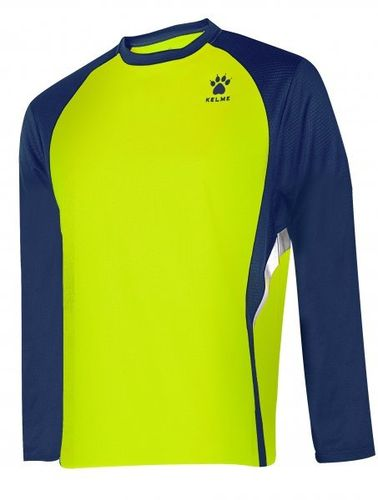 Kelme | Long Sleeve T-Shirt | Man | 87259 lemon / marine