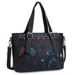 Women's handbag | Lois | 302681 | black color