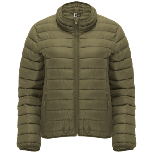 Women's padded jacket | Military green color | (RA5095)