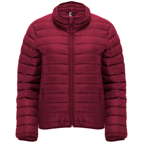 Women's padded jacket | Garnet color | (RA5095)