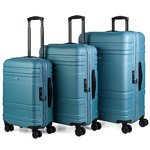 Maletas | Set Trolleys | Jaslen | 73100-01 azul