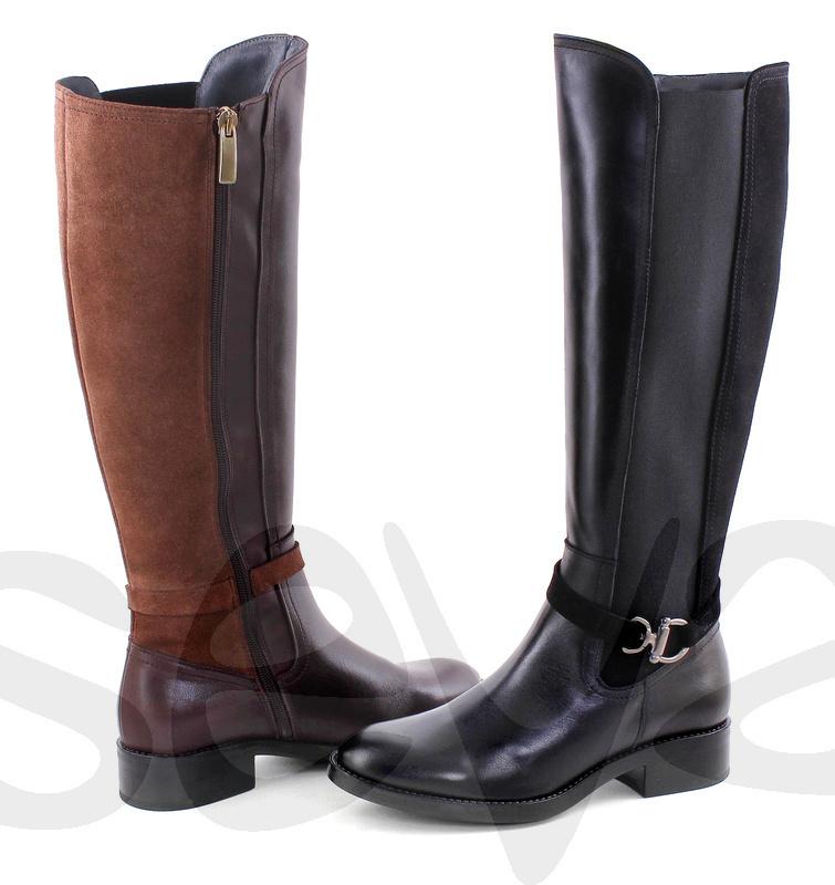 Super Dames laarzen | 104CL | Ronde punt | Platte hak TI-73