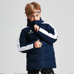 Parka jakke | Kelme | Junior | New Street | marineblå / hvit