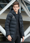 Chaqueta Parka | Kelme | Senior | New Street | color negro