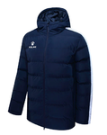 Parka jacket | Kelme | Senior | New Street | navy / white