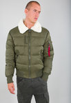 Alpha Industries Flight Jacket | Injector III Puffer FD | 257 dark green