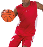 Asioka | Ensemble de sport de basket-ball | 58/13 rouge / blanc