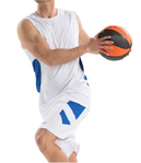 Asioka | Basketball sports set | 58/13 white / royal blue