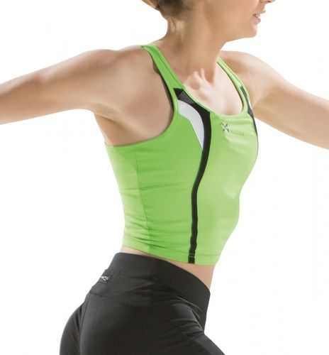 Strappy sports top | Woman | Asioka | 125/15 | green