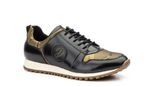 Men's leather trainers | DL-5333 Kaki | Made in Spain