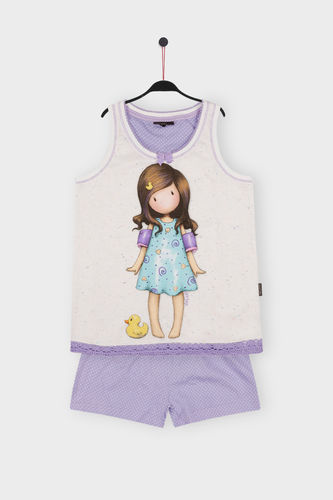 Pijama Niña Santoro | Little Duck  54450-0 | crudo
