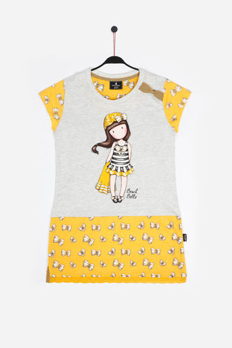 Girls Santoro Shirt | Beach Belle 51436-0 | mustard
