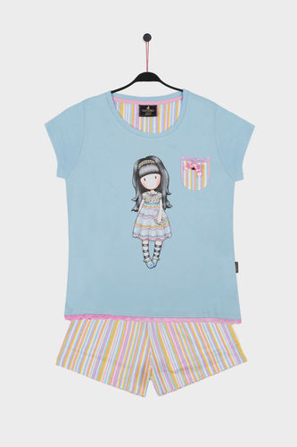 Pijama Niña Santoro | All Things Nice  54452-0 | turquesa