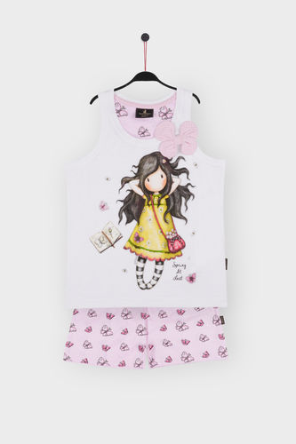Girl Santoro Pajamas | Spring At Last 54454-0 | White