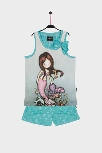 Girl Santoro Pajamas | So Nice To Sea You 54462-0 | ocean