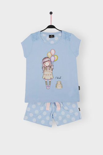 Girl Santoro Pajamas | I Wish 54466-0 | blue