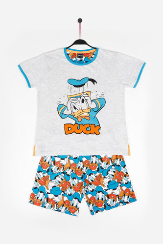 Disney Boy's Pajamas | Donald Duck 54293-0 | jasper gray