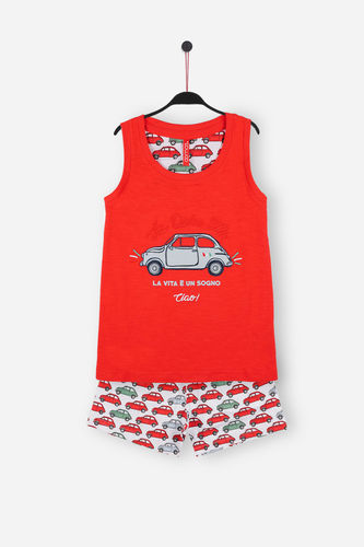 Girl Pajamas | La Vita 54095-0 | Red