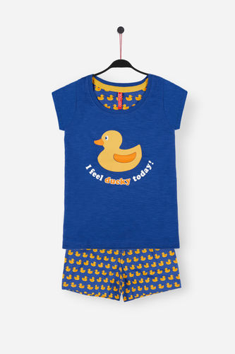 Girl Pajamas | Ducky 54098-0 | blue