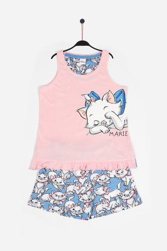 Disney Girl's Pajamas | Lazy Marie 54391-0 | rose