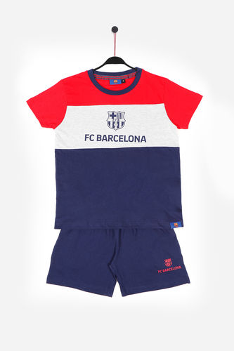Child Pajamas | FC BARCELONA Tape 54934-0 | Red