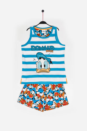 Pyjama fille Disney | Donald Duck 54393-0 | bleu