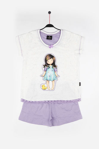 Pijama Niña Santoro | Little Duck  54473-0 | crudo
