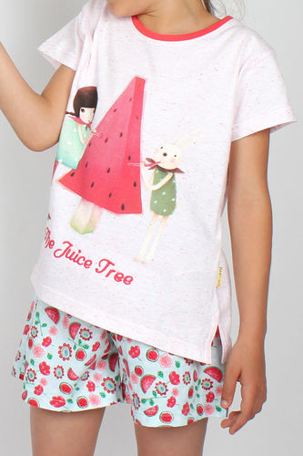 Girl Santoro Pajamas | Juice Tree 54474-0 | White
