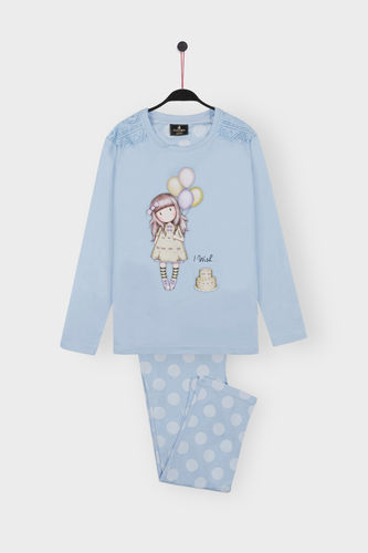 Girl Santoro Pajamas | I Wish 54478-0 | blue