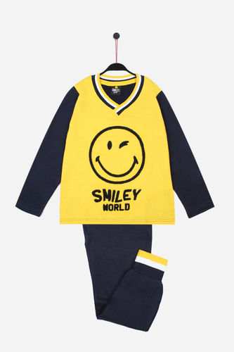 Girl Pajamas | SMILEY Phototypes 54717-0 | yellow