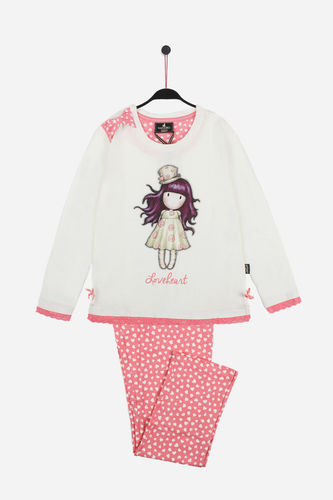Girl Santoro Pajamas | Love Heart 54414-0 | raw