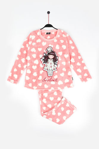 Girl Santoro Pajamas | Love Heart 54424-0 | raspberry