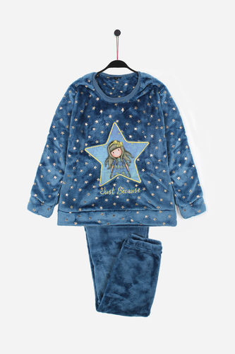 Girl Santoro Pajamas | Just Because 54428-0 | blue