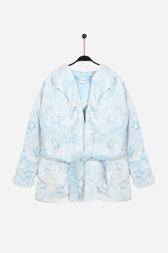 Disney Girl Dressing Gown | Dumbo 57342-0 | blue