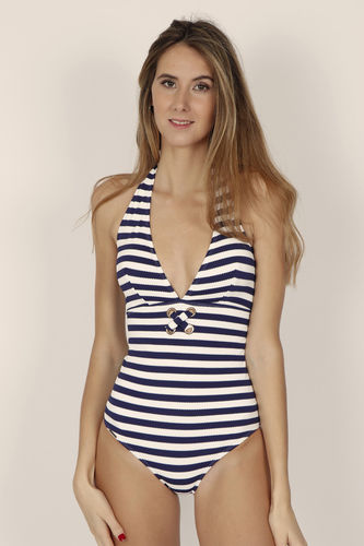 Swimsuit Woman | Removable Sailor Cup 11262-0 | Marine
